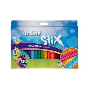 Artline Stix Colouring Marker Set 20