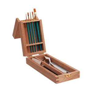 Jasart Easel Brush Boxes