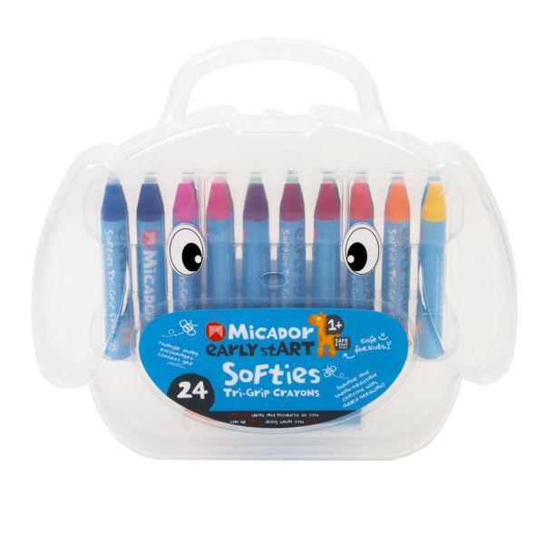 Micador Early Start Soft Triangle Crayon