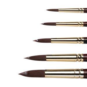 Winsor & Newton Galeria Acrylic Long Handle Round Brushes