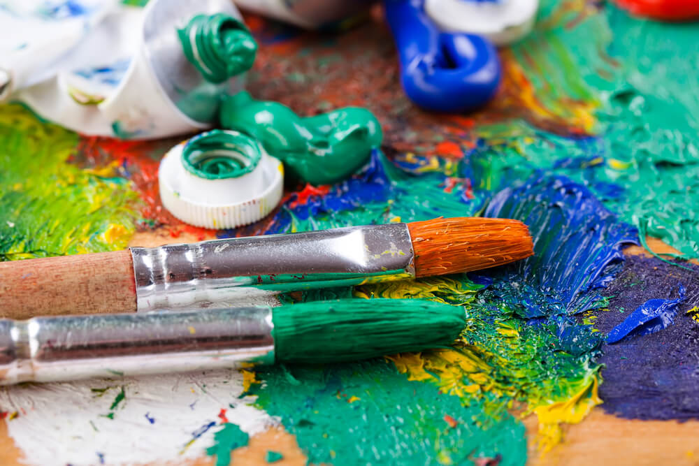 Organise Your Art & Craft Space to Encourage Focus